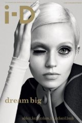 Cover girl: modelling for <i>iD</i> magazine in 2011.