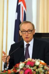 """It is internationally accepted that spending on potential refugees onshore is the same as spending it on the same people offshore"" ... Australian Foreign Affairs Minister Bob Carr."
