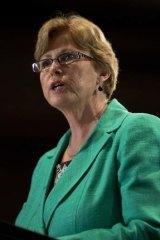 Last man standing: Greens leader Christine Milne.