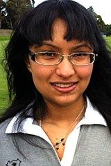 VCE perfect score: PLC student Farzana Zaman.