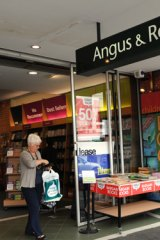 More than 50 Angus & Robertson and Borders stores have closed since February.