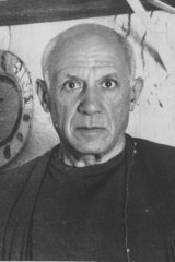 Artist Pablo Picasso.