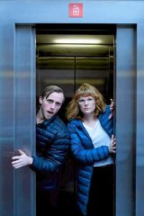 Benedict Hardie and Anne-Louise Sarks, the writer, director and performers of new MTC show, <i>By Their Own Hands</i>.