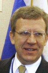 Russian Finance Minister Alexei Kudrin.