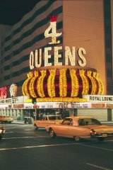 Four Queens Casino, Las Vegas, 1968.