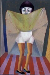 """Erica McGilchrist's """"Patient at Kew Hospital"""" 1954."""
