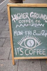 The pair behind Higher Grounds said customers were chasing a more environmentally-friendly cuppa.