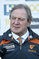 Kevin Sheedy, former coach, on club doctor Bruce Reid: ''It's like putting a big gun in front of Bambi on this one, but good luck, because most people know the calibre of Bruce Reid.''