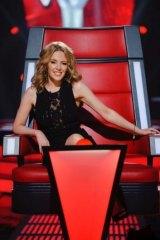 Revitalised ... New <i>The Voice Australia</i> coach Kylie Minogue.