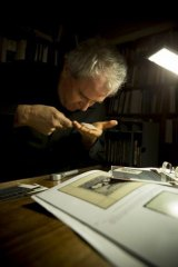 Postage paid: Gary Watson, director of Prestige Philately, at his office in Melbourne