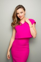 Nature's best: Supermodel Miranda Kerr has developed an exfoliating scrub that uses bamboo particles.