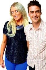 Under fire ... radio presenters Mel Greig and Michael Christian.