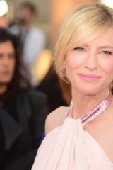 Social media issues: Cate Blanchett.
