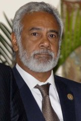 Xanana Gusmao ... wants foreign forces out.