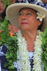 Dorice Reid, head of the Cook Islands chiefs council, which approved the research.