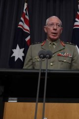 Defence Force chief General David Hurley has weighed in on the comments from Senator Stephen Conroy to border protection chief Angus Campbell.