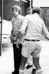 The arrest of one of the members of the Croatian Six.