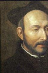 St Ignatius of Loyola.