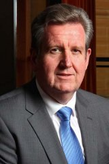 Pushing for closer business ties with China ... Barry O'Farrell.