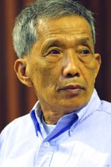 Slow march of justice ... former Tuol Sleng jail chief Kaing Guek Eav has been the UN court's only conviction in five years.