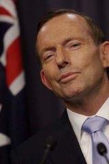 Ridiculed: Tony Abbott.