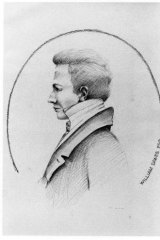 Lieutenant William Dawes, a scientist who sailed on the first fleet.
