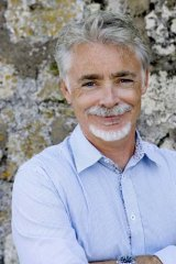 Family affair ... author Eoin Colfer says Artemis Fowl is based on his brother, Donal.