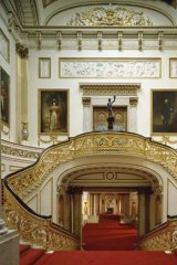 Fancy a job? You could be vaccuming the stairs at Buckingham Palace.