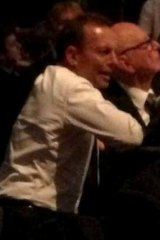 Tony Abbott and Rupert Murdoch at the IPA's 70th anniversary dinner in April.