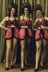 Dancers Townsville, c.1942-45, silver gelatin photograph.