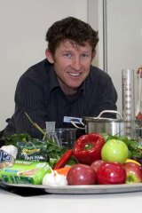 University of Canberra dietitian and triathlete Andrew Simpson believes food should be better appreciated before consumption.