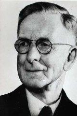 War historian C.E.W Bean.