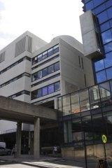 A brutalism-style Sydney University building.