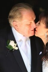 Fred Nile weds Silvana Nero in 2013. Nile asserts that only heterosexual marriages are acceptable.