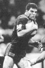 Rugby leage player Ian Roberts.