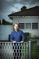 "''Trust"" ... Ali Al Jenabi at his home."