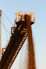 The  iron ore market is a challenge.