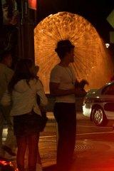Step carefully ... Kings Cross at night.