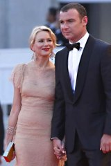 On the guest list: Naomi Watts and husband Liev Schreiber.