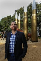 """Artist Tony Albert expects that the Hyde Park artwork may """"ruffle some feathers""""."""
