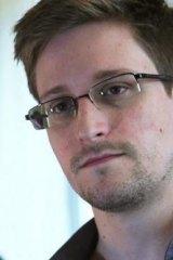 Former NSA contractor Edward Snowden.