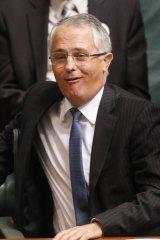 Opposition Leader Malcolm Turnbull