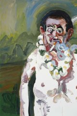 A piece from Ben Quilty's exhibition <i>The Fiji Wedding</i>.
