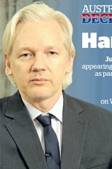 Julian Assange: 'To build properly, sometimes it is necessary to sweep aside the old, corrupt foundations.'