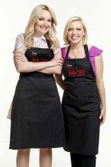 <i>My Kitchen Rules</i> couple Carly and Tresne.