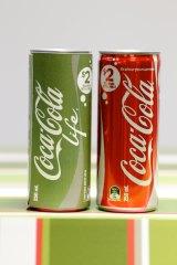 Coca-Cola's smaller cans.
