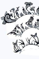 Paperself's paper eyelash designs.
