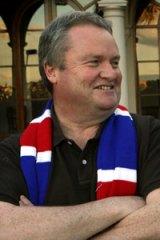 Former Western Bulldogs president Peter Gordon.