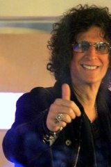 Radio host Howard Stern never minces his words.