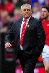 Looking ahead: Lions coach Warren Gatland.